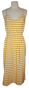 J.Crew short dress Brilliant Sunflower on Tradesy