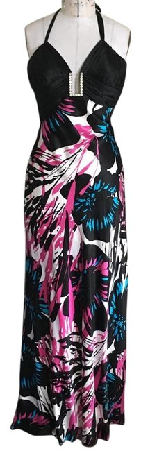 Preload https://img-static.tradesy.com/item/18225298/cache-black-with-blue-purple-white-print-sexy-maxi-long-cocktail-dress-size-2-xs-0-2-650-650.jpg