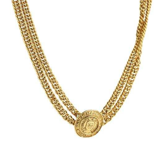 Chanel Medallion Charm Double Chain Image 1