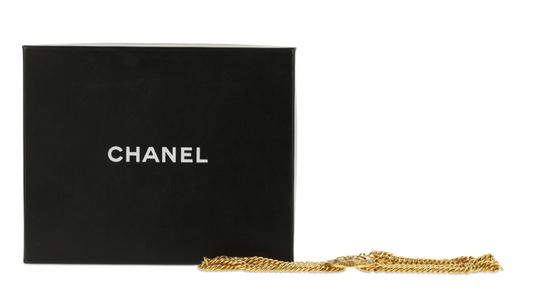 Chanel Medallion Charm Double Chain Image 11