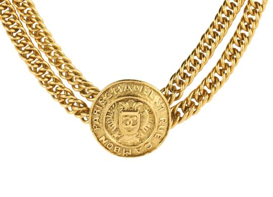 Chanel Medallion Charm Double Chain Image 3