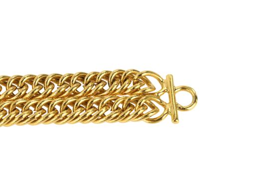 Chanel Medallion Charm Double Chain Image 9