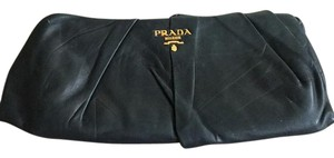 Prada Green Clutch