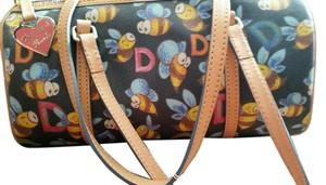 Dooney & Bourke Leather Monogram Shoulder Bag