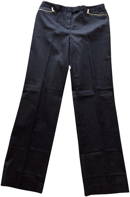 Calvin Klein Trousers Straight Pants Black Image 0
