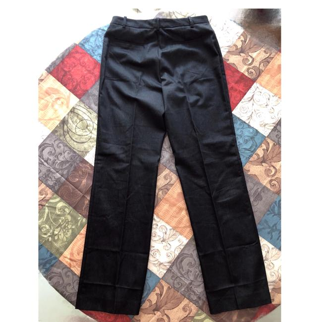 Calvin Klein Trousers Straight Pants Black Image 1