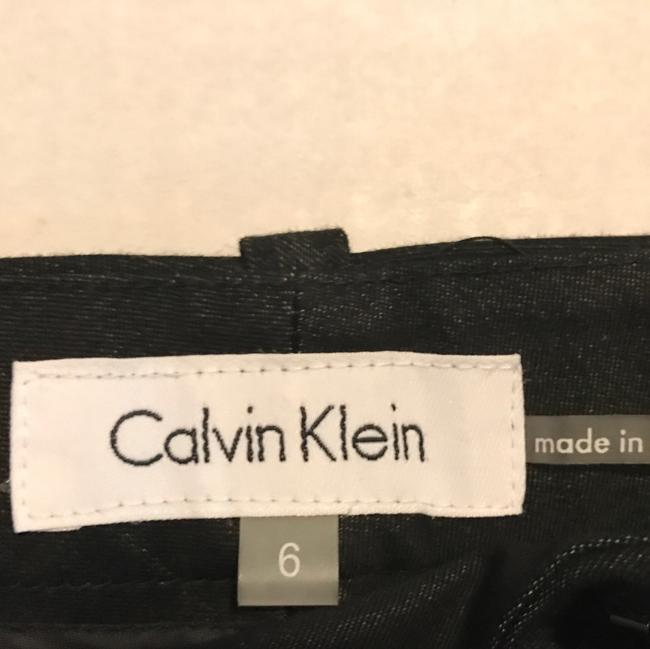 Calvin Klein Trousers Straight Pants Black Image 4