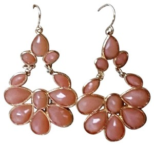 Other Boho chic peach chandelier earrings