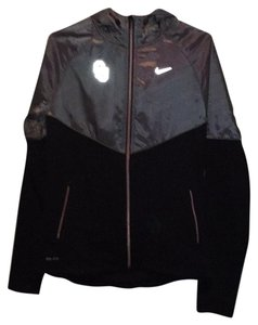Nike Windbreaker University Black and gray Jacket