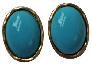 Lucia USA Oval turquoise earrings