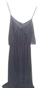 Navy Multi Maxi Dress by Forever 21