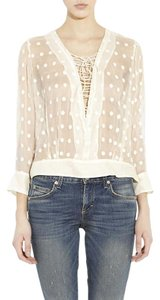 IRO Tory Burch Zimmermann Top
