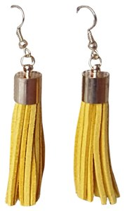 Other Yellow Tassel earrings