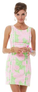 Lilly Pulitzer short dress Pink Green on Tradesy