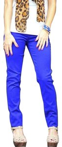 Divided by H&M Straight Pants Royal Blue