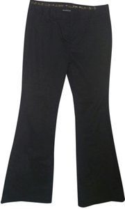 Express Work Work Design Studio Flare Pants Black