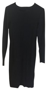 Karl Lagerfeld Knit Fitted Longsleeve Dress