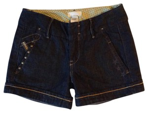 Diesel Cuffed Shorts Dark Denim