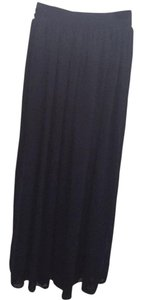 American Apparel Maxi Skirt Navy