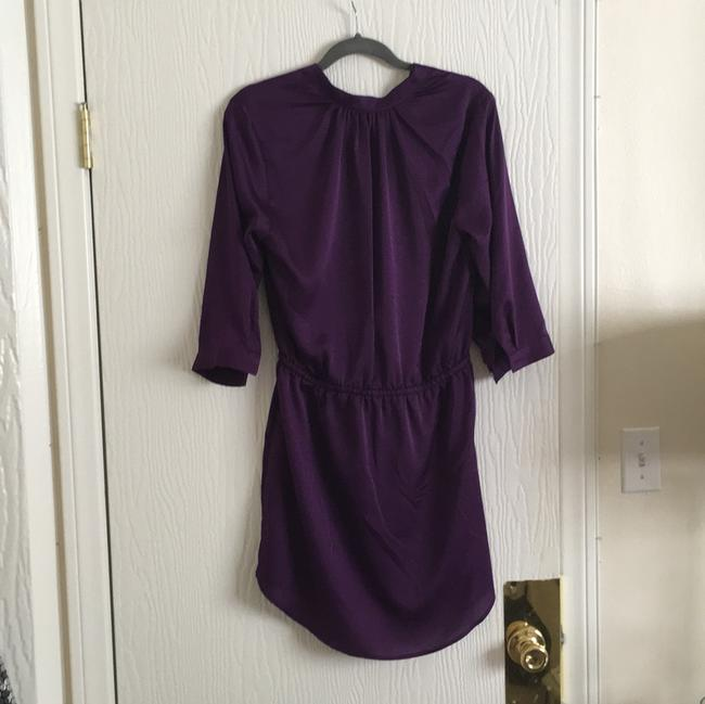 Aqua short dress Purple on Tradesy Image 1