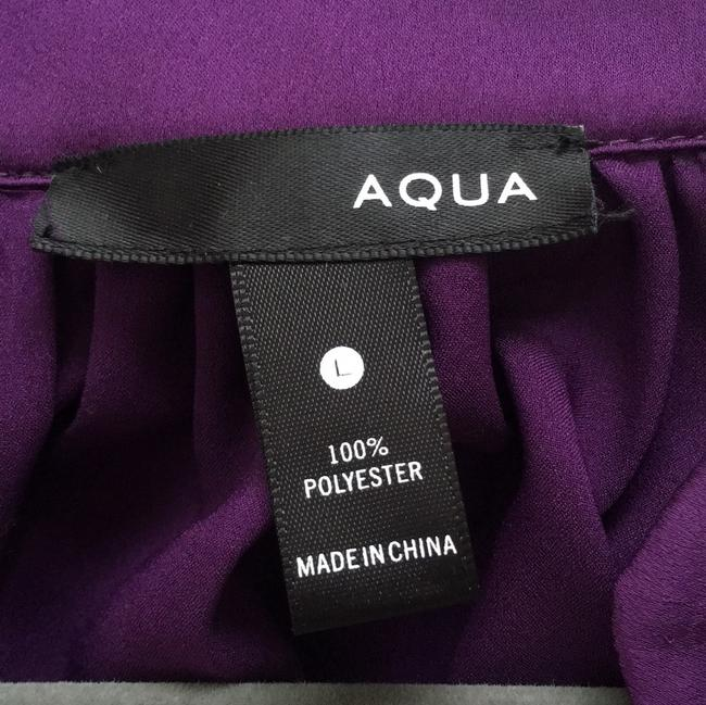 Aqua short dress Purple on Tradesy Image 2