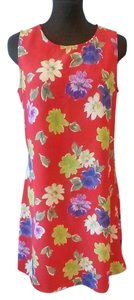 New York & Company short dress Red, Multi on Tradesy