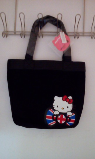 Loungefly Tote in Black Image 1