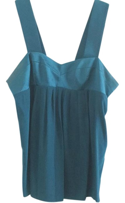 Preload https://img-static.tradesy.com/item/18232870/amanda-uprichard-teal-night-out-top-size-12-l-0-1-650-650.jpg