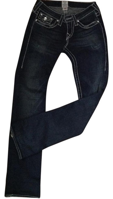 Preload https://img-static.tradesy.com/item/18232879/true-religion-blue-medium-wash-crystal-button-with-white-stitching-boot-cut-jeans-size-26-2-xs-0-1-650-650.jpg