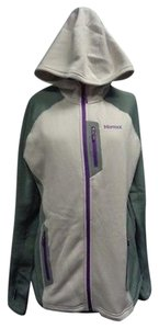 Marmot Purple Green And Cream Jacket