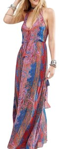 Pink combo Maxi Dress by Free People