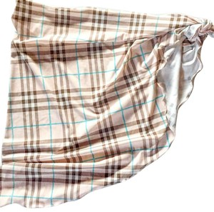 Burberry Burberry Pink Check Wrap/Cover-up