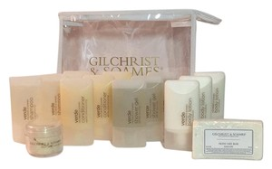 GILCHRIST & SOAMES GILCHRIST & SOAMES 15 Piece Travel Toiletry Set NEW