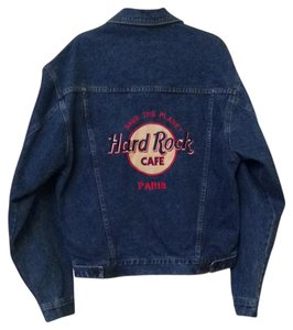 Hard Rock denim Womens Jean Jacket