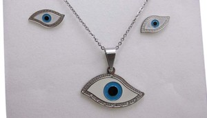 Other Stainless Steel Eyes Fashion Set w Free Shipping
