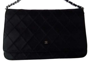 Chanel Leather Woc Wallet On Chain Caviar Leather Gold Hardware Cross Body Bag