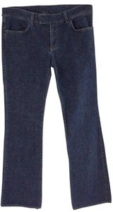 Salvatore Ferragamo Straight Leg Jeans-Medium Wash