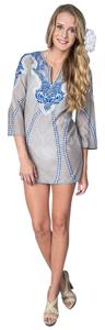 KAS New York Resort Wear Linen Tunic