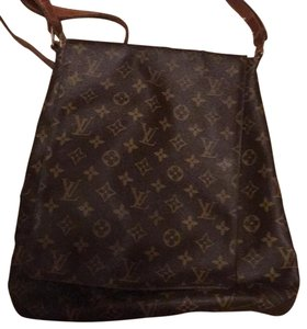 Louis Vuitton Dark Brown Messenger Bag