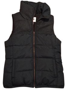 Old Navy Sleeveless Down Wool Monochrome Vest