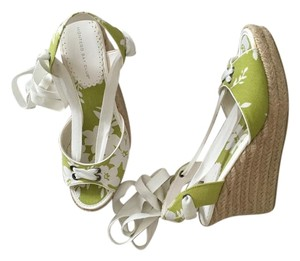Montego Bay Club Lime Green Wedges