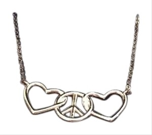 Macy's Peace and love necklace