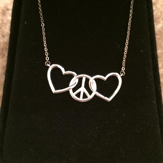 Macy's Peace and love necklace Image 1