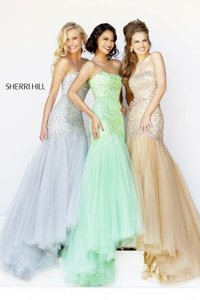 Sherri Hill Gold Dress