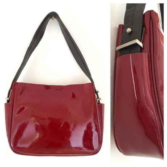 Bally Vintage Leather Shoulder Bag Image 2