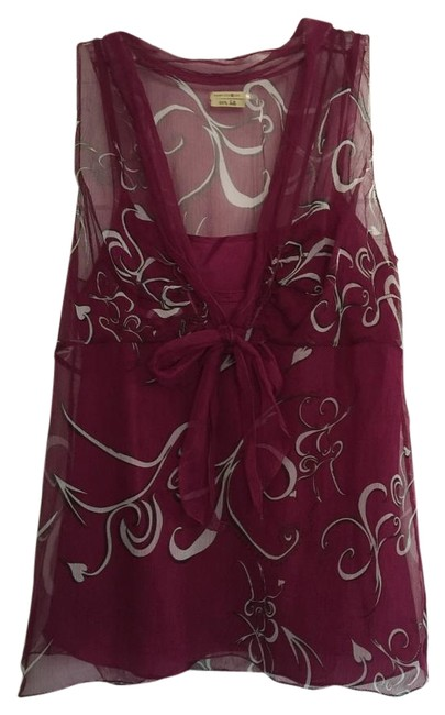 Max Studio Magenta Sleeveless Top - 66% Off Retail free shipping