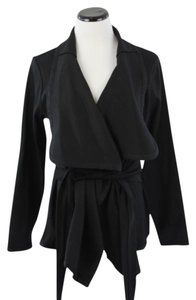 Anne Fontaine Cotton Black Jacket