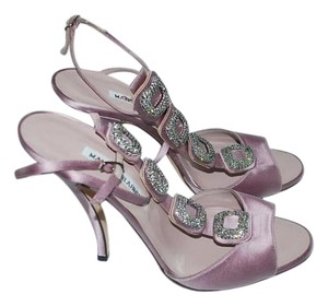 Manolo Blahnik Jeweled Sandals