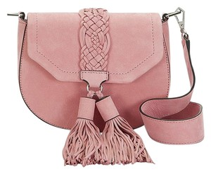 Rebecca Minkoff Summer Suede Fringe Hem Cross Body Bag
