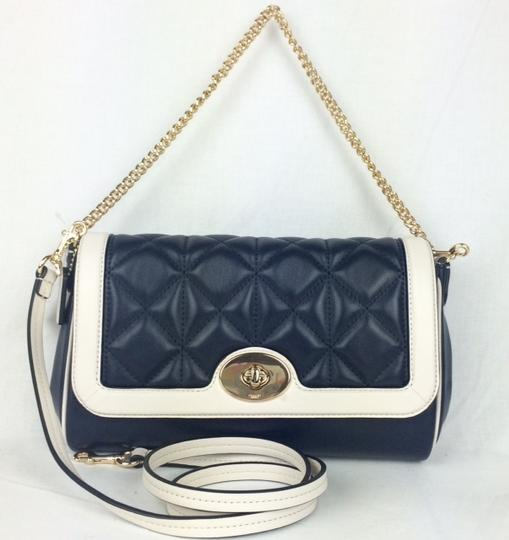 Coach Quilted Leather Small F37723 Flapfront Shoulder Bag Image 4